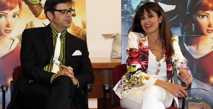 Greg e Maria Grazia Cucinotta