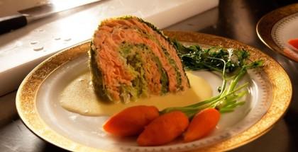 La cuoca del presidente Cavolo al salmone di Scozia