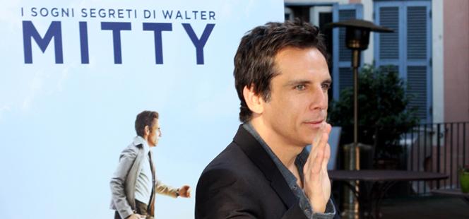 Ben Stiller presenta Walter Mitty 1/2