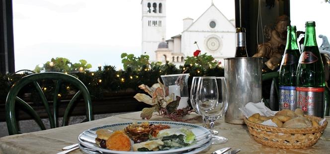 San Francesco. Il gusto dell'Umbria davanti alla Basilica
