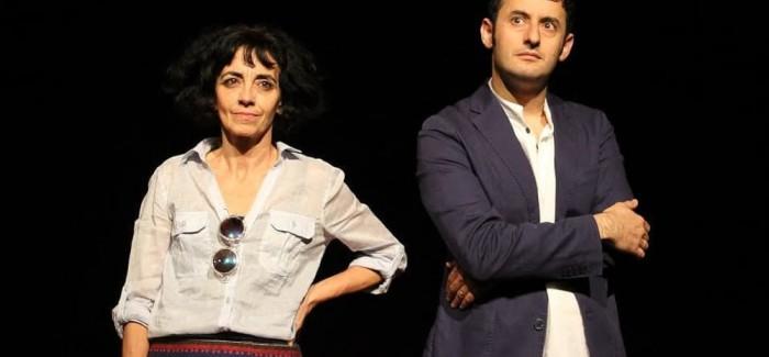 """Il duo artistico Frosini/Timpano in """"Ritratto d'artista"""" al Teatro India"""