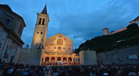 Attesa per il Festival di Spoleto 2017