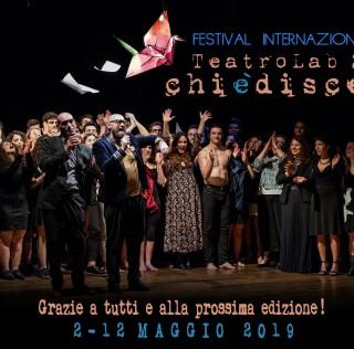 Conclusa la 2° edizione del Festival Internazionale TeatroLab2.0-Chièdiscena